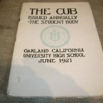 1921-JUNE-OAKLAND-UNIVERSITY-HIGH-YEARBOOKCALIFORNIA-170661216579