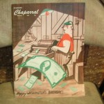 VINTAGE-1948-FEBRUARYSTANFORD-CHAPARRAL-HUMOR-MAGAZINE-350297865577